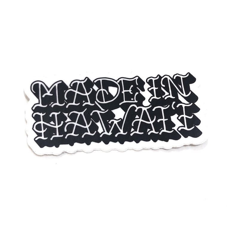 Made in Hawaii Sticker