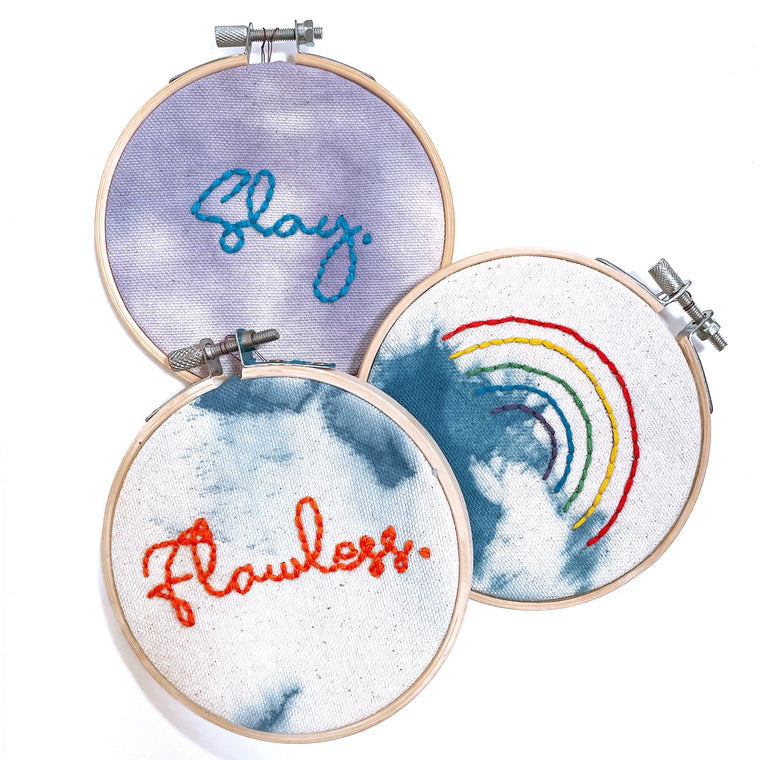 Embroidery Art (small) by SALA DESIGN HOUSE
