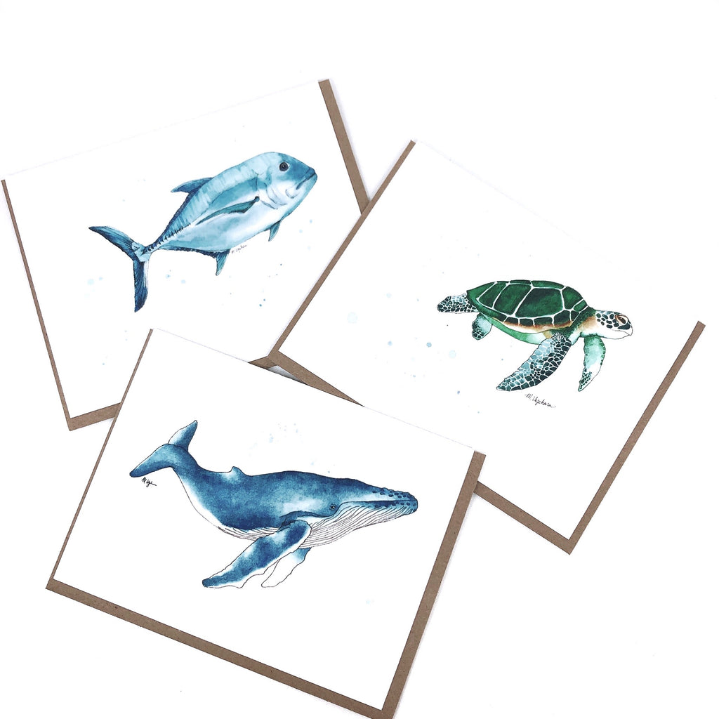 Ocean Series Greeting Cards