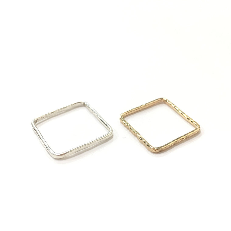 Square Stacking Rings