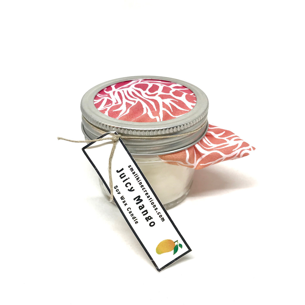 Juicy Mango Candle by Smallkine Creations