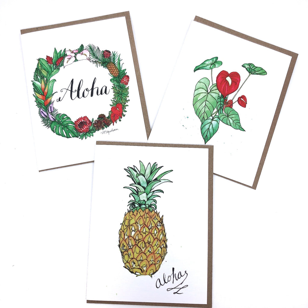 Hawaii Series Greeting Cards