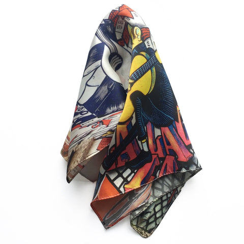 Fado Silk Pocket Square