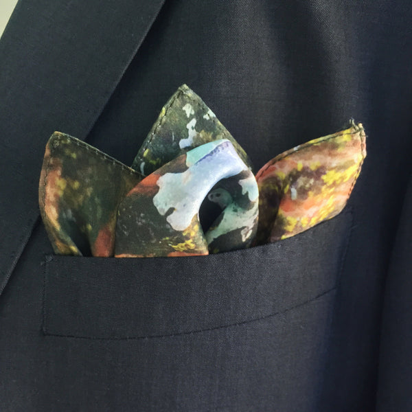 Trunk Silk Pocket Square