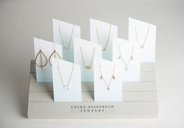 LEJ Necklace and Earring Display