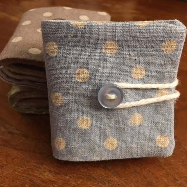 Needle Book - dots