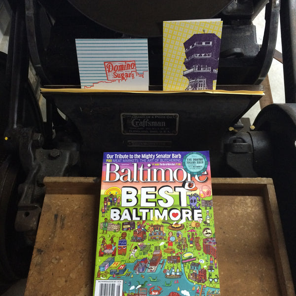 Baltimore Magazine August 2016