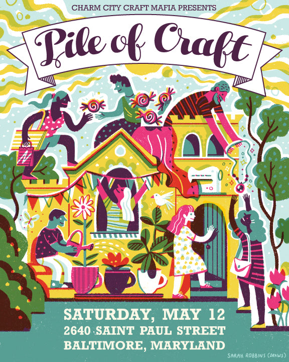 Celebrating Spring @ Pile of Craft, May 12