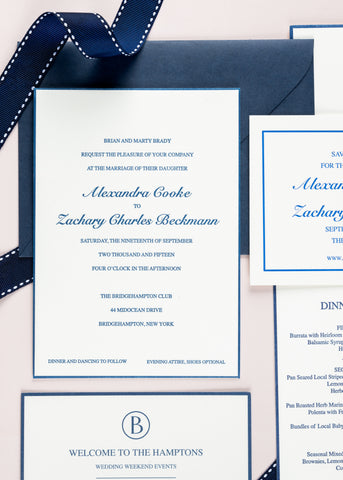 Wedding invitation example 2