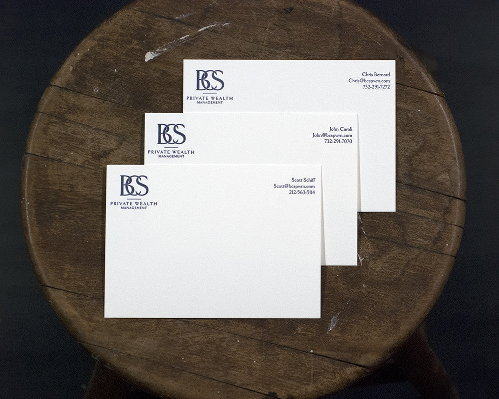 Business Partners Correspondence Card
