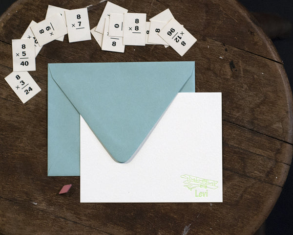 Lil' Levi Personalized Correspondence Card