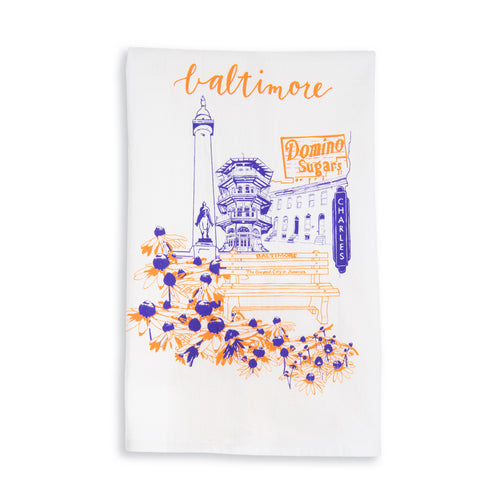 Baltimore Maryland | City Love | tea towel