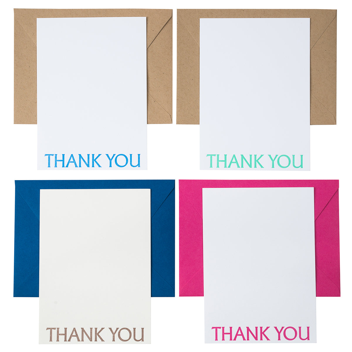 Thank You Card | Letterpress Cards