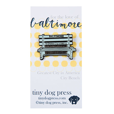 Baltimore Maryland | Greatest City in America bench pin