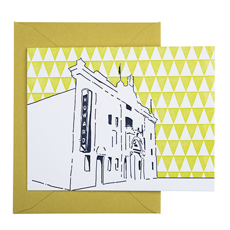Washington D.C. | Howard Theatre | Letterpress City Card