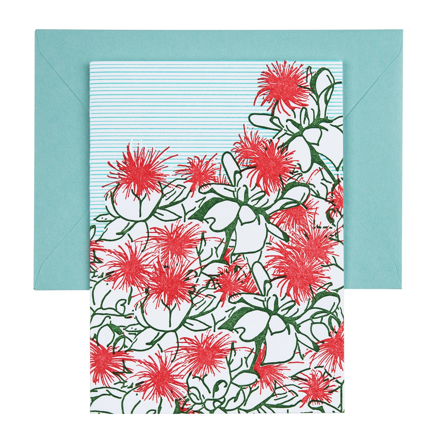 Safflower | Letterpress Floral Card