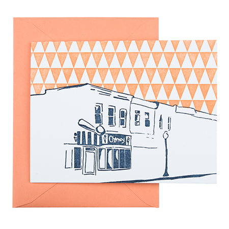 Baltimore Maryland | Charmery | Letterpress City Card