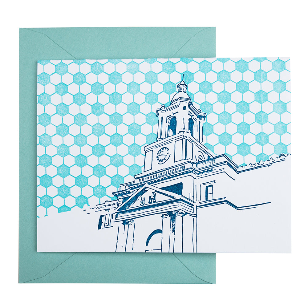 Baltimore Maryland | The Rotunda | Letterpress City Card