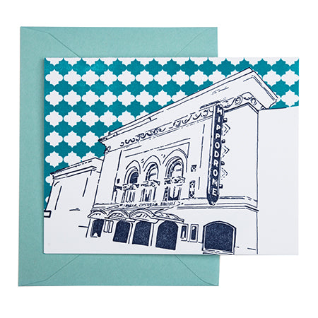 Baltimore Maryland | Hippodrome Theatre | Letterpress City Card