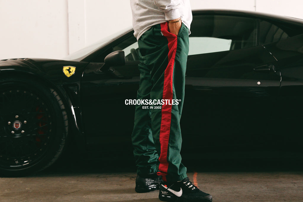 CRKS Nylon Windbreaker Pant