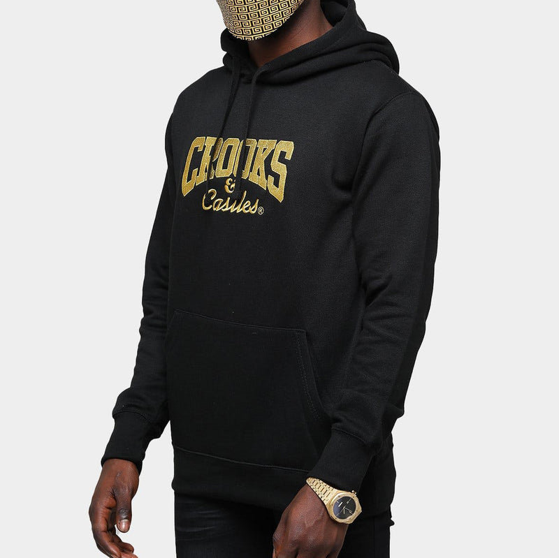 Core Logo Embroidery Hoodie