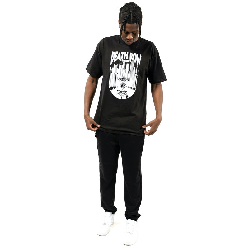 Death Row x Crooks Vinyl Medusa Tee