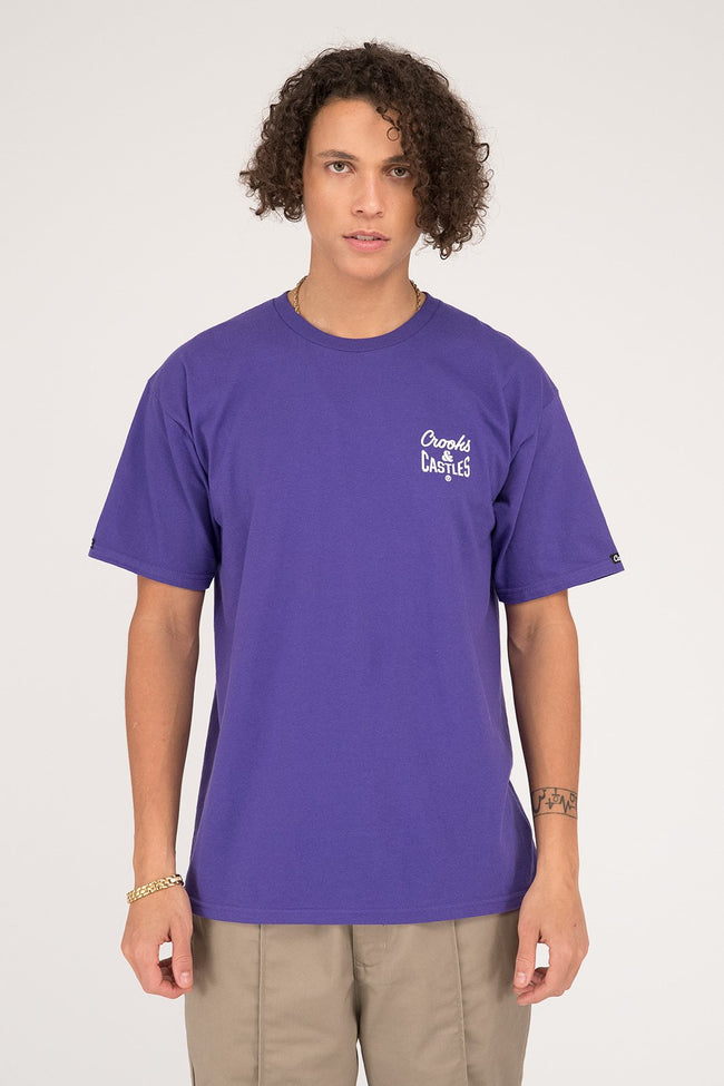 Mens Reverse Core Tee (Purple)