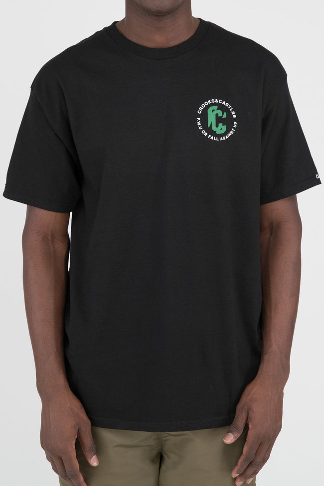 Mens C Distortion Tee (Black)