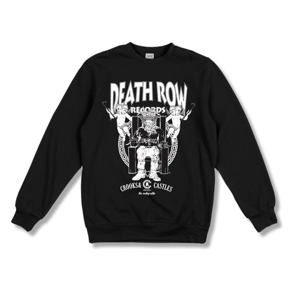Death Row x Crooks Logo Crew