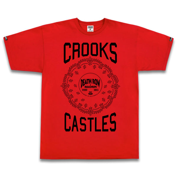 Death Row x Crooks Stereo Paisley Tee