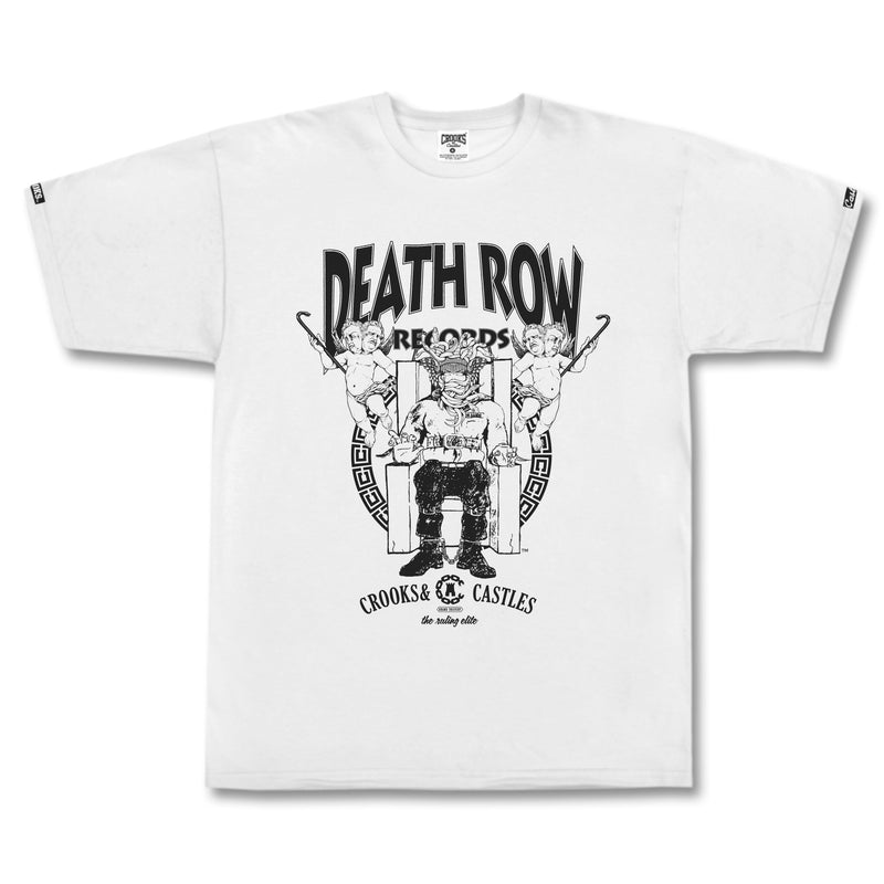 Death Row x Crooks Logo Tee