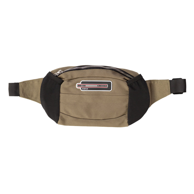 CRKS Tech Patch Fanny Pack (Olive)