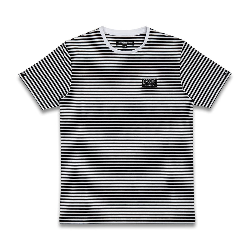 Core Logo Stripe Tee