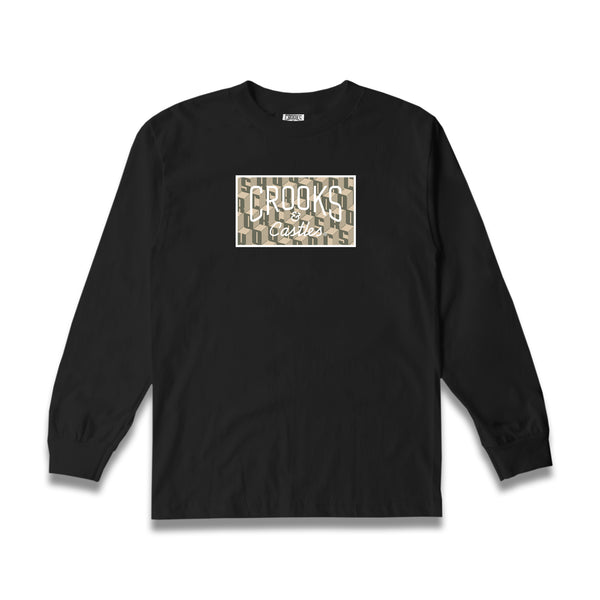 Crooks Block L/S Tee