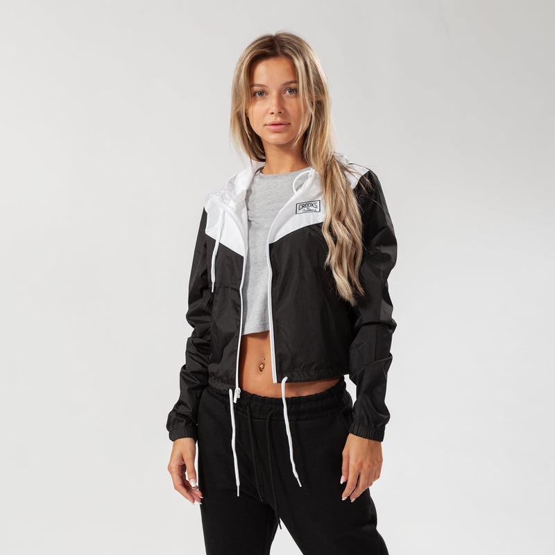Box Core Logo Crop Jacket