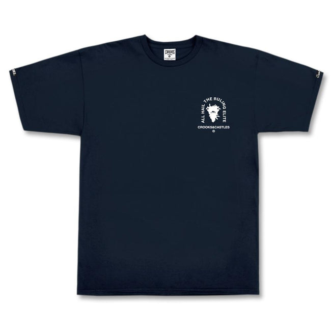 Mens Medusa Block Tee (Navy)