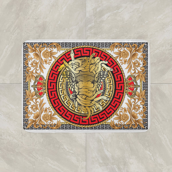 Ornament Medusa Bathmat
