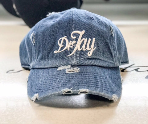 Dr. Jay Denim Dad Hat
