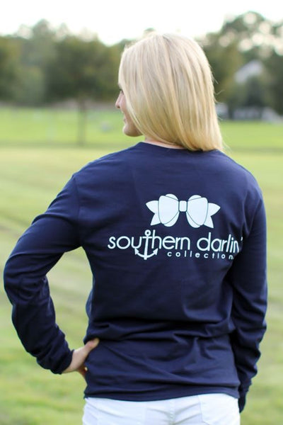 Classic Navy w/ Pocket - Southern Darlin' - 2