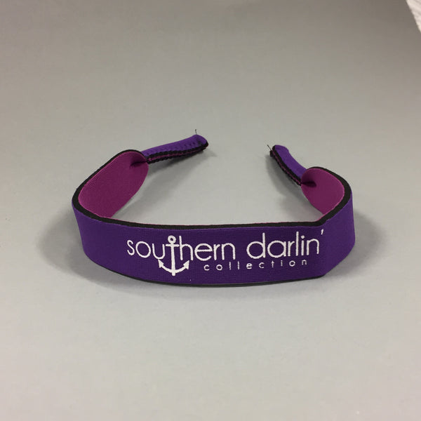 Sunglass Strap - Purple - Southern Darlin' - 2