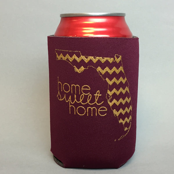 Florida- Garnet & Gold Can Cooler - Southern Darlin' - 1