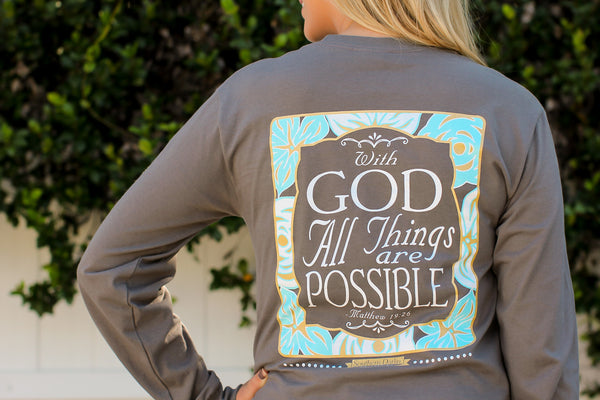 With God All Things are Possible - Southern Darlin' - 2