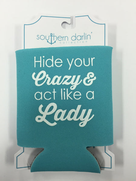 Hide Your Crazy Can Cooler - Southern Darlin' - 2