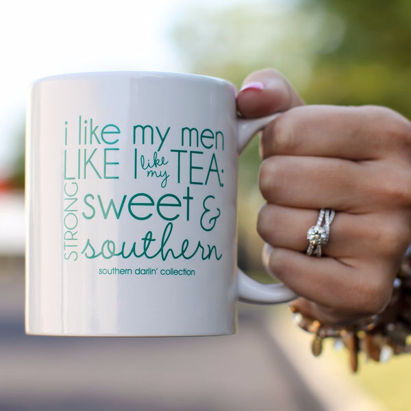 Mug- I Like My Men - Southern Darlin' - 1