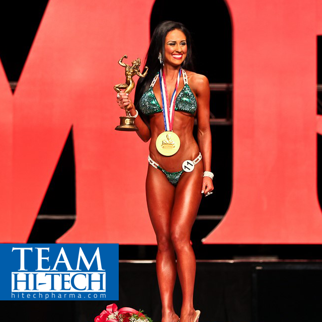 Hi-Tech Pharmaceuticals Announces Signing Three Time Ms. Olympia Bikini Pro Ashley Kaltwasser