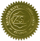 ASI food safety seal
