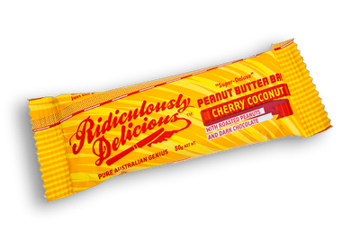 Ridiculously Delicious Peanut Butter Bars 50g
