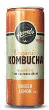 Remedy Kombucha Ginger Lemon 250ml