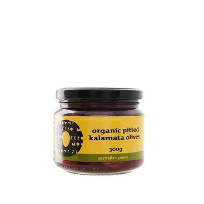 Mount Zero Organic Pitted Kalamata Olives (300g)