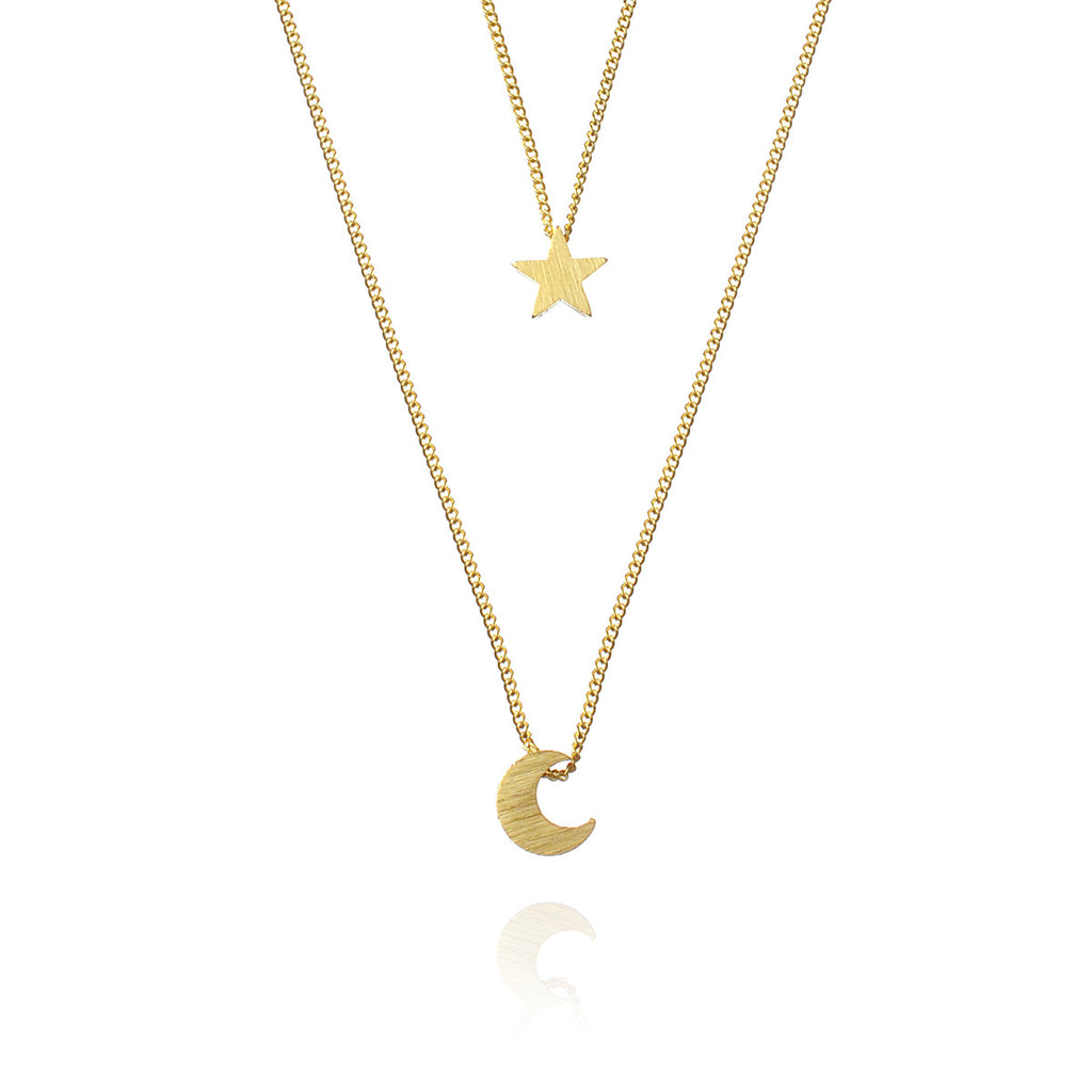 Night Child Necklace - Gold